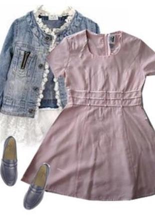 Платье легкая костюмная ткань размер 40-44