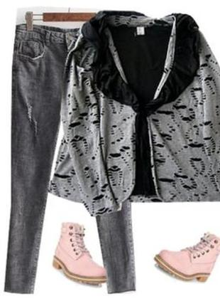 Трикотажный пиджак размер 52-54
