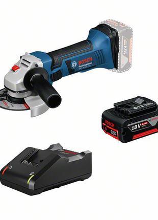 Болгарка аккум. Bosch GWS 18-125 V-LI Professional 0615990L6G