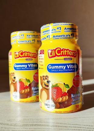 L'il Critters, Gummy Vites Complete 70 мультивитаминных жевательн