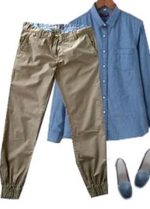 Катоновые брюки джогеры размер 46-48