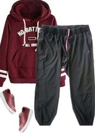 Легкие стрейчевые брюки размер 54-56