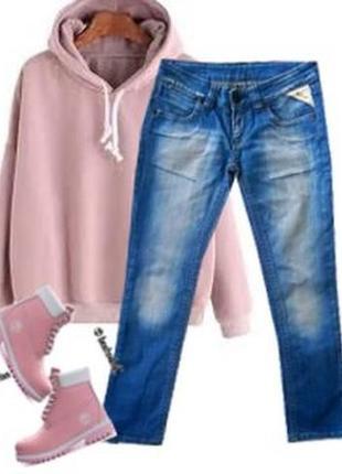Модные укороченные джинсы размер 44-46