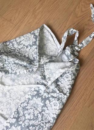 Накидка фартук для кормления грудью