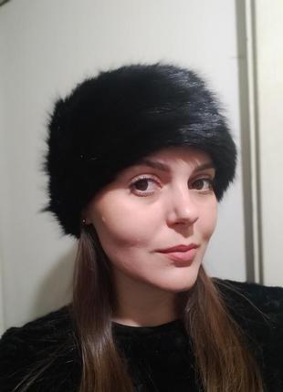 Новая шапка из искусственного меха marks&spencer