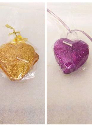 Свеча декоративная Сердце