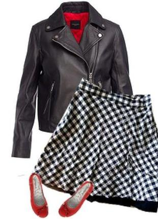 Модная легкая юбка большой размер