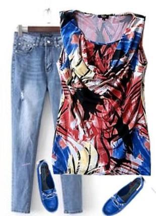 Блуза туника плотный ластик трикотаж