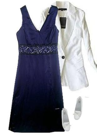 Нарядное платье вышивка бисер