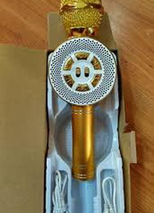 Караоке микрофон Wster WS-669 со встроеннымсо встроенным динамико