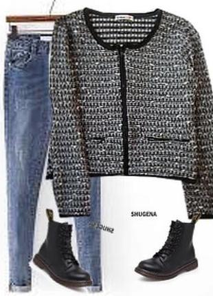 Кофта пиджак букле