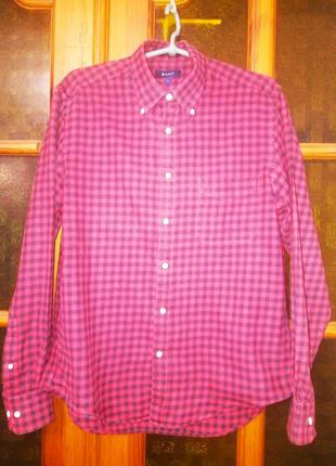 Рубашка женская Gant теплая в клетку, M