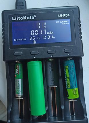 Зарядное устройство LiitoKala Lii-PD4 для аккумуляторов