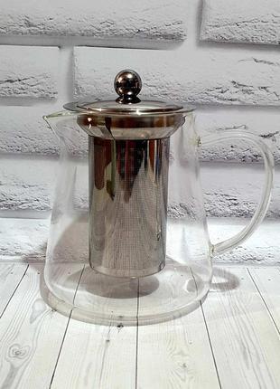 Чайник с крышкой и нержавеющим фильтром