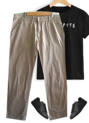 Легкие катоновые брюки