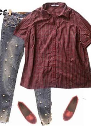 Рубашка катон большой размер