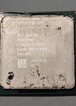 Процессор Intel Pentium 4 2.8GHz 512Kb 533MHz на сокет 478