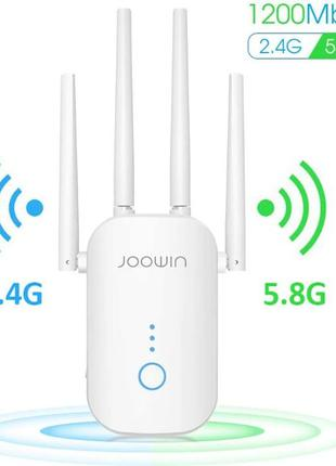 JOOWIN AC1200 расширитель диапазона Wi-Fi до 1200 Мбит...