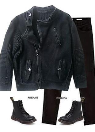 Кофта пиджак косуха для школы