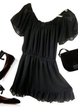 Шефоновое платье размер 48-50