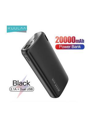 Повербанк KUULAA 20000 мАч Быстрая зарядка Power Bank