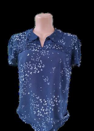 Симпатичная блузка с принтом бабочки от tu