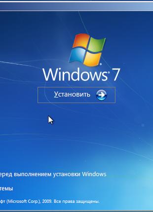 Настройка и установка Windows