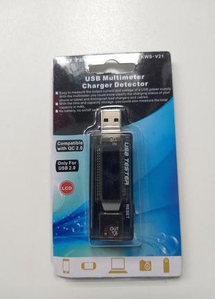 Набір для діагностики, USB тестер + резисторне навантаження