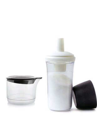Набор сахарница-дозатор и сливочник (250 мл)