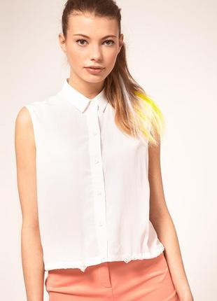 Бесплатная доставка!  блуза из шелка белая atmosphere, размер ...