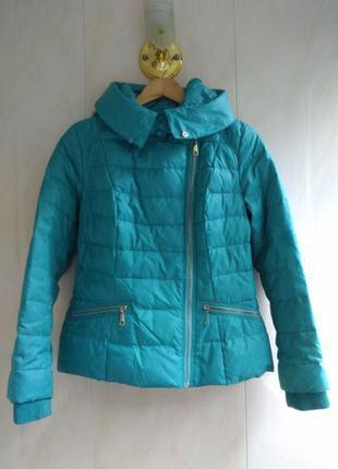 Зимняя куртка пуховик с капюшоном vernia
