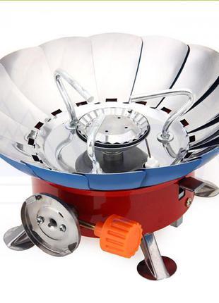 Портативная газовая плита\ горела кKovar K-203 с защитой от ветра