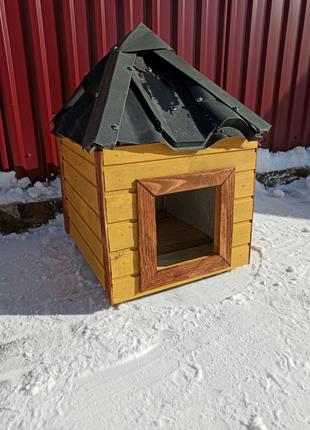 Будка для собаки+ подарунок