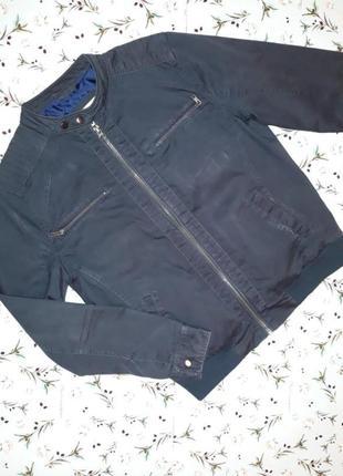 Темно-серая куртка river island, размер l