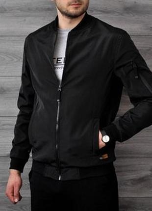 Черная куртка bhs, размер 50-52