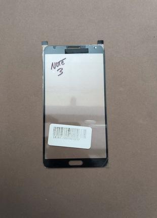 Стекло для ремонта дисплея Samsung Note 3 Чёрное