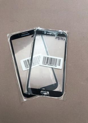 Стекло для ремонта дисплея Samsung Note 2 Чёрное