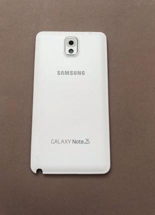 Задняя крышка Samsung Note 3 белая