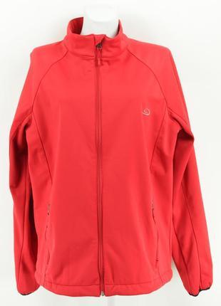 Красная ветронепродуваемая спортивная куртка на молнии c-trail