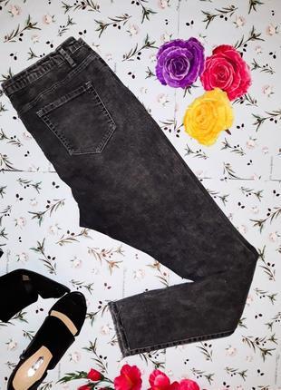 Узкие джинсы с рваными коленями denim co оригинал, размер 52-  54