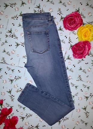 Узкие джинсы с рваным коленом next, высокие, размер 48 - 50