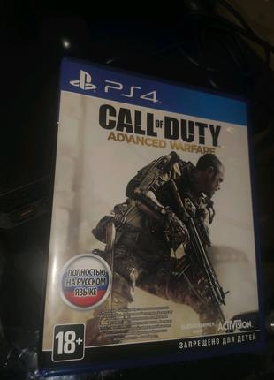 Ігровий диск PS4 Sony Call of Duty: Advanced Warfare [Blu-Ray дис