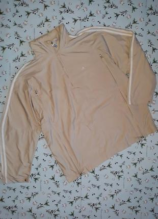 Стильная спортивная куртка adidas, размер 54 - 56
