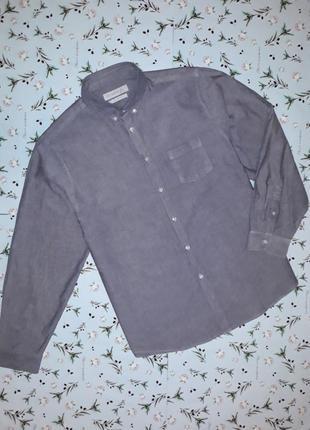 Стильная хлопковая фирменная рубашка primark, размер 52 - 54