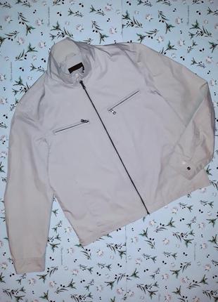 Стильная мужская куртка zara, размер 50-52, большой размер