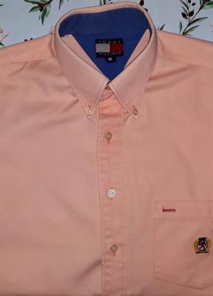 Акция 1+1=3 модная плотная теплая рубашка tommy hilfiger ориги...