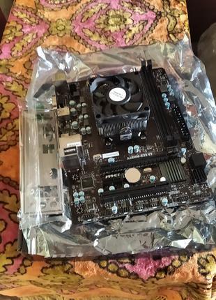Продам Материнскую Плату MSI A68HM-E33 V2 С Процессором