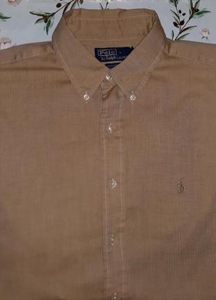 Шикарная рубашка ralph lauren, размер 54 - 56, большой размер