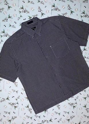 Стильная фирменная рубашка в клетку с коротким рукавом dkny, р...