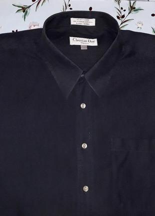 Шикарная серая рубашка christian dior, размер 52 - 54, большой...